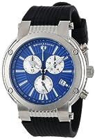 Reloj Swiss Legend SL-10006-03-SB de cuarzo para hombre con correa de caucho, color negro de Swiss Legend