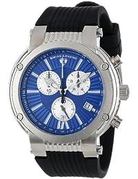 Swiss Legend–sl-10006–03-sb–Zeigt Herren–Quartz Chronograph Armband Gummi schwarz