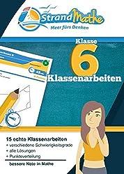 Mathematik Klassenarbeits-Trainer Klasse 6 - StrandMathe: Mathearbeit simulieren, Ergebnisse prüfen, selbst benoten, Lernlücken aufdecken!