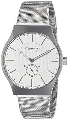51VXst9rr4L - Stuhrling Original Classic Albion Silver Mens 125G.33112 watch