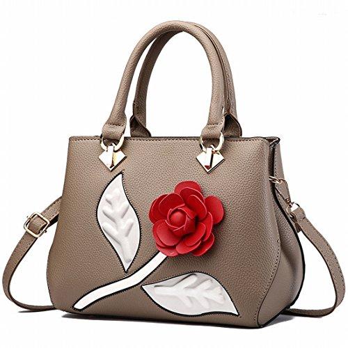 Weibliche Damenmode Damenhandtasche Messenger Bag Khaki
