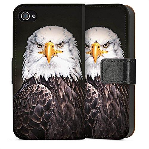 Apple iPhone 5s Housse Étui Protection Coque Aigle Aigle Oiseau Sideflip Sac