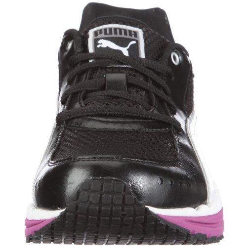 Puma Body Train Mesh, Chaussures multisport femme Noir - Schwarz/black-white-festival fuchsia