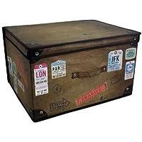 Large Collapsible Jumbo Storage Box Folding Storage Chest Kids Room Tidy Toy Box