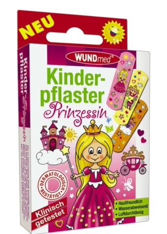 KINDERPFLASTER Prinzessin 10 St Pflaster