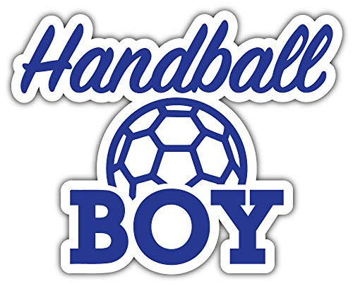 Handball Boy Slogan Bumper Sticker Vinyl Art Decal for Car Truck Van Window Bike Laptop