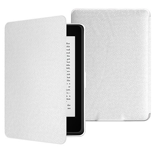 MoKo Kindle Paperwhite Case - Custodia Origami Ultra Sottile per Amazon Nuovo Kindle Paperwhite (Adatto Tutte le versioni 2012, 2013, 2015 e 2016),Non adatto per All-new Paperwhite 10th generation 2018, BIANCO