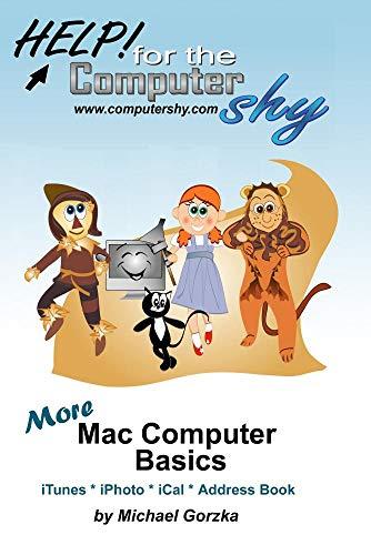 More Mac Computer Basics - iTunes, iPhoto, iCal, Apple Address Book