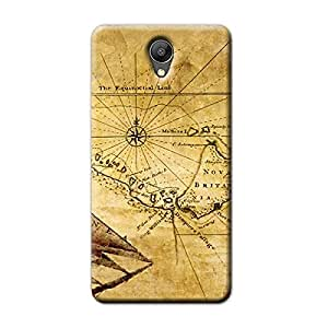 MAP BACK COVER FOR XIAOMI REDMI NOTE 2