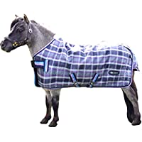 IV Horse Wee & Small Pony Stable Rug 100g in Black