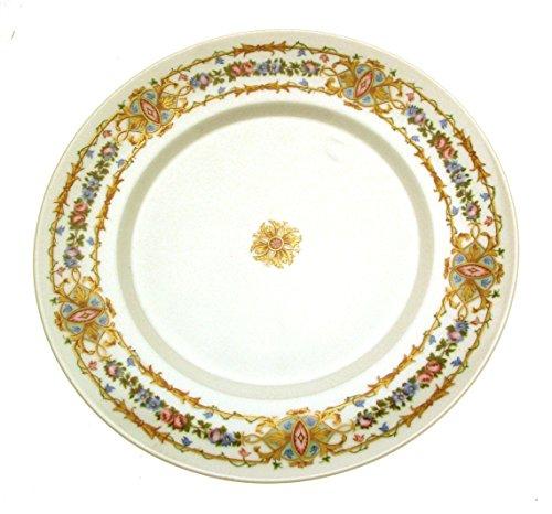Limoges Raynaud Assiette Motif Floral 27 cm