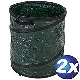 2x Garten-Abfallsäcke Pop-Up 100 l