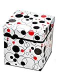 #10: RED HOT Premium Designer Foldable Storage Stool