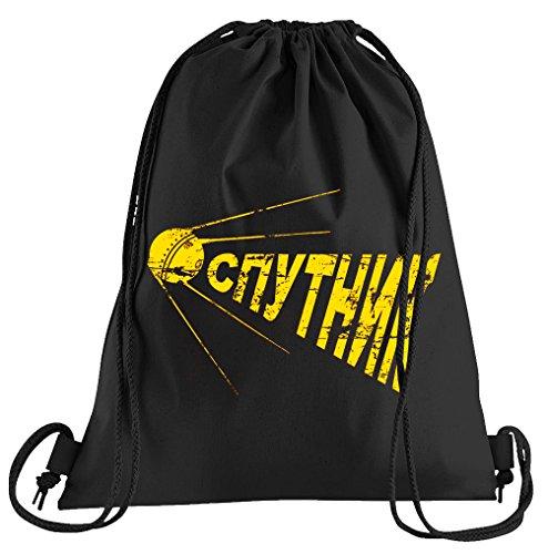 T-Shirt People Sputnik CCCP Probe Sportbeutel - Bedruckter Beutel - Eine schöne Sport-Tasche Beutel mit (Sputnik Kostüm)
