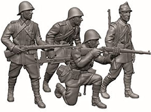 RoFemmeian Infantry (1939 - 1945) - 1:72 Scale   Promotions