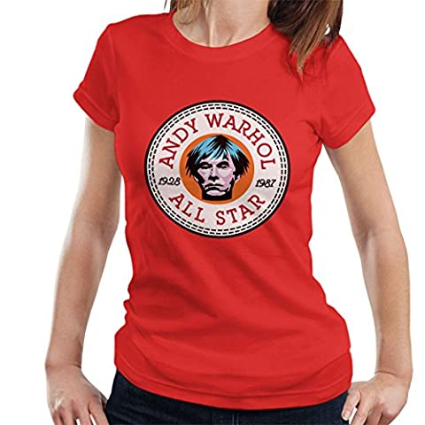 Andy Warhol All Star Converse Logo Women's T-Shirt