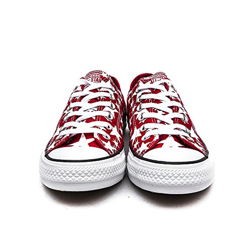 Converse Ctas Core Ox, Baskets mode mixte adulte Red/White