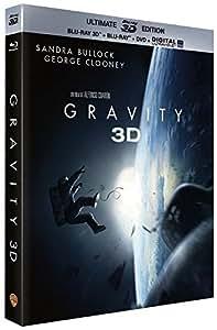 Gravity - Oscar® 2014 du Meilleur Réalisateur - Blu-Ray 3D + Blu-ray + DVD + Digital Ultraviolet (Ultimate Edition) [Ultimate Edition - Blu-ray 3D + Blu-ray + DVD + Copie digitale]