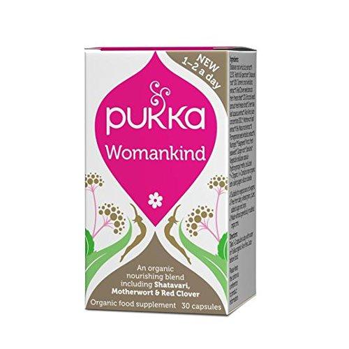 Pukka Bio Womankind Nahrungsergänzungsmittel 30pro Packung