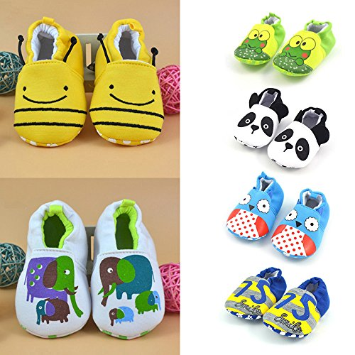 HUHU833 Toddler Boot, Newborn Lovely First Walkers Baby Shoes Soft Flats Slippers - Fit 3-12 Months Baby