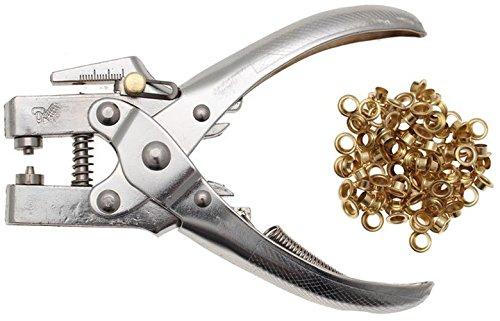 Preisvergleich Produktbild BGS 569 Ösenzange für Ösen Innendurchmesser 5mm inkl. 100 Ösen