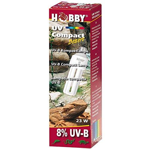 Hobby 37335 UV Compact Desert, 8% UV-B, 23 Watt