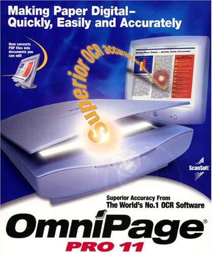Omnipage Pro 11 Crossupgrade von JEDER OCR-Software