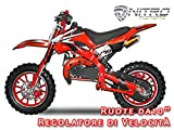 Motorbimbo Nitro Motors Minicross Apollo Rosso