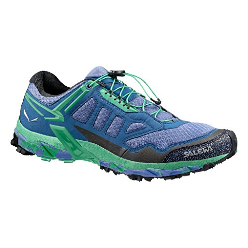 SalewaWS ULTRA TRAIN - Scarpe Sportive Outdoor Donna Multicolore (Mehrfarbig (Colony Blue/Absinthe))