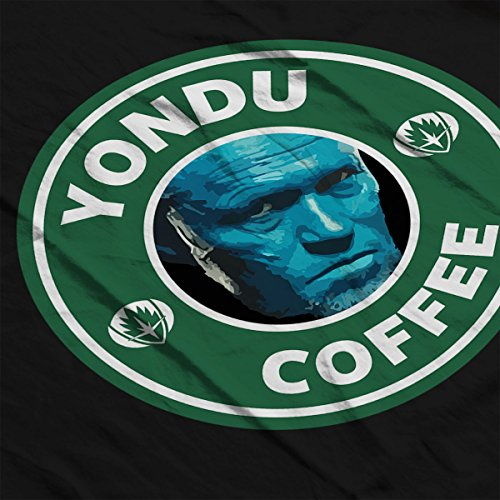 Guardians Of The Galaxy Yondu Coffee Starbucks Women's Hooded Sweatshirt Black