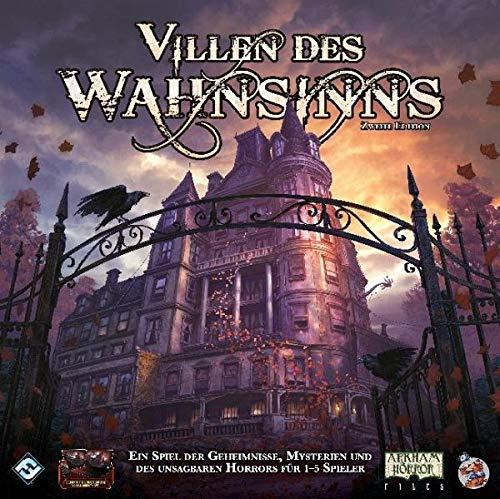 Fantasy Flight Games MAD20 Villen des Wahnsinns 2. Ed. Grundspiel