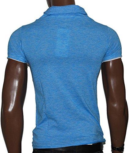 Redbridge by Cipo & Baxx Herren Shirt R-4T1223 blau S