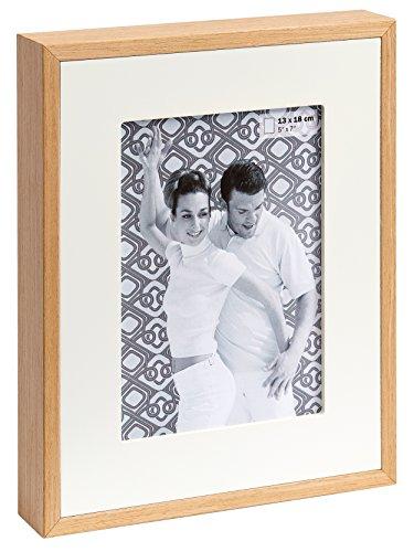 walther design YP015W Portraitrahmen Double, 10x15 cm, Holz, weiß