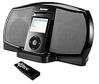 iRhythm A-303 - iPod Docking Speakers - 20 Watts - Black