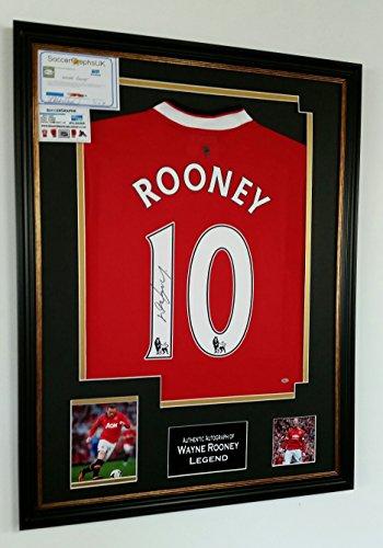 Wayne-Rooney-of-Manchester-United-Signed-Shirt
