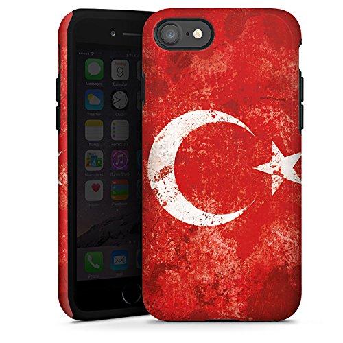 Apple iPhone 6 Hülle Case Handyhülle Türkiye Türkei Flagge Tough Case glänzend