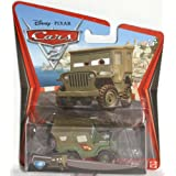 Disney Pixar Cars 2 Race Team Sarge # 15