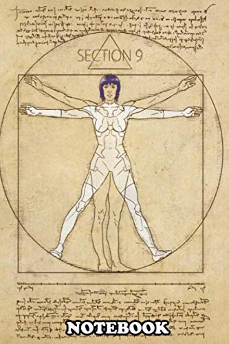 "Notebook: Vitruvian Major , Journal for Writing, College Ruled Size 6"" x 9\"", 110 Pages"