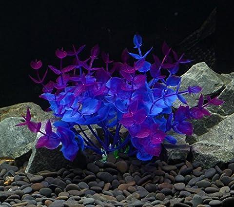 XJoel Simulation Aquatique Plantes en plastique Stump Aquarium Fish Tank Ornament Décoration