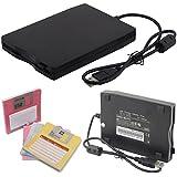 """Lecteur de disquette externe portable USB 3,5"""" Port Compatible Windows 98/SE/2000/ME/XP/VISTA/Windows 7 1,44Mo"""