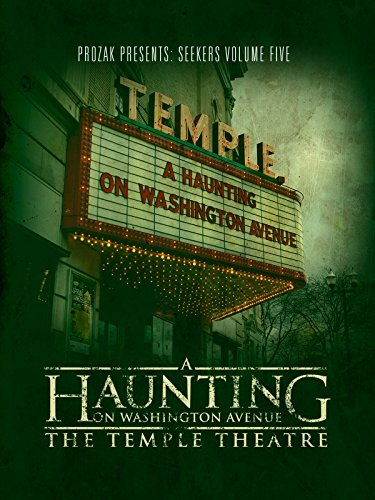 A Haunting on Washington Avenue: The Temple Theatre Cover