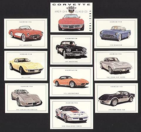 Corvette Classic US Cars - 1954 Roadster, 1957, 1959, 1963