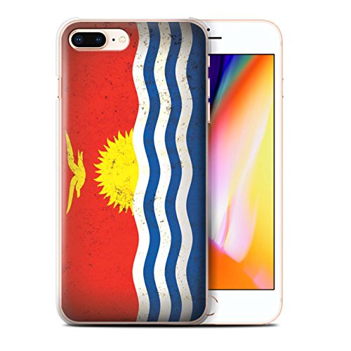 Stuff4 Hülle / Case für Apple iPhone 8 Plus / Fiji/Fijian Muster / Ozeanische Flagge Kollektion Kiribati