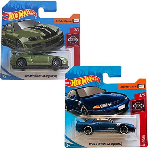 Hot Wheels Pack Nissan Skyline GT-R (BNR34) 45/250 2019