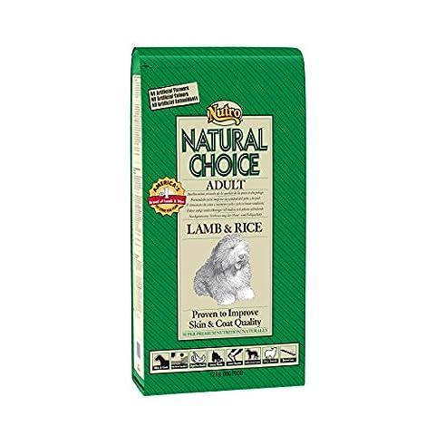 NUTRO NATURAL CHOICE Croquettes pour Chiens Adulte Agneau et Riz Sac de 12 Kg