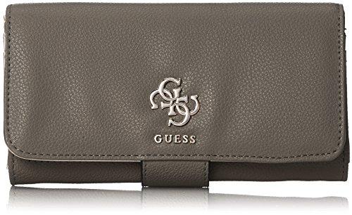 Guess Damen Swvg6853590 Geldbörse, Grau (Fog), 2x10x20 centimeters (Brieftasche Guess Braun)