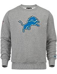 New Era NFL Detroit Lions On FIeld Crewneck Sweater Pullover Mens M L XL XXL