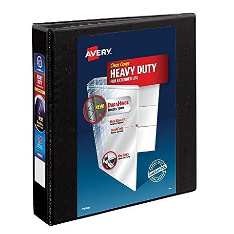 Avery schwere View Binder mit One Touch EZD Ring 1.5 Inch schwarz