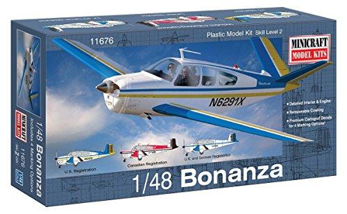 dempsey-designs-morceau-modeles-echelle-1-48-beechcraft-bonanza-v-35-modele-kit