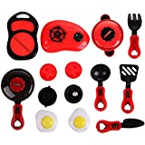 Kitchen Cooking Toy,Children DIY Beauty Kitchen Cooking Toy Role Play Toy Set